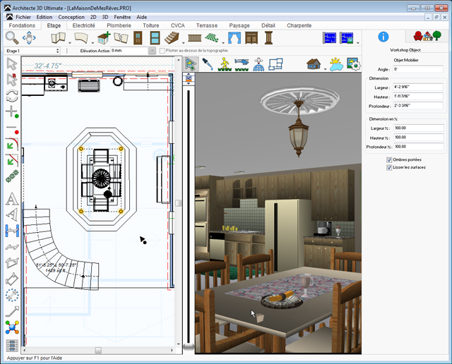 Architecte 3d ultimate 2017 le logiciel ultime d for Logiciel 3d architecture