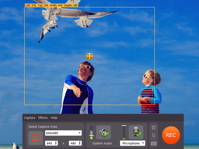 Capture anything on your computer screen as high-quality video