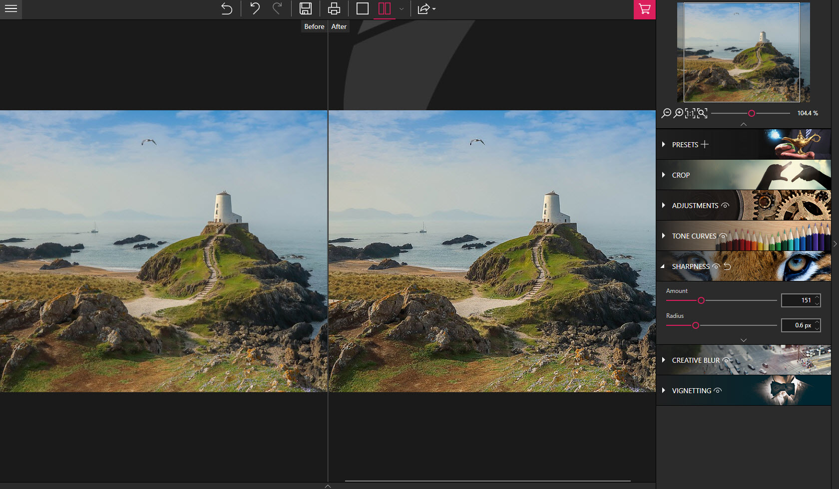 Improve the sharpness of your photos