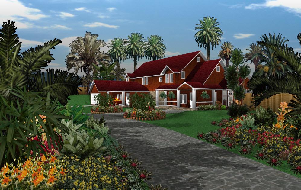 C t jardin imaginez le jardin de vos r ves for Jardin 3d