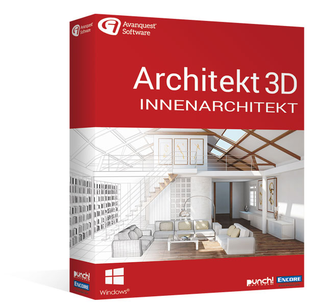 Architekt 3D 20 Innenarchitekt </br>für Windows®