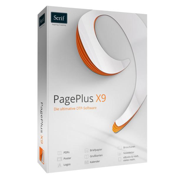 Serif Pageplus X9 Dtp Projekte Leicht Gemacht