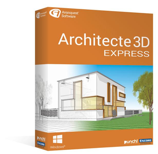 Architecte 3d Express 20 Le Logiciel D Architecture 3d