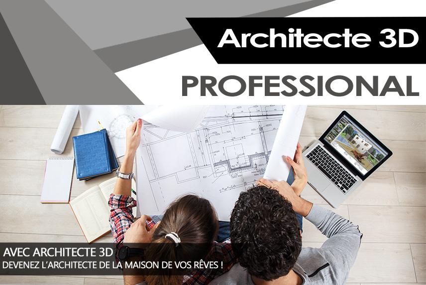 Architecte 3d professional 2017 concevez facilement la for Concevez vos propres plans de maison gratuitement
