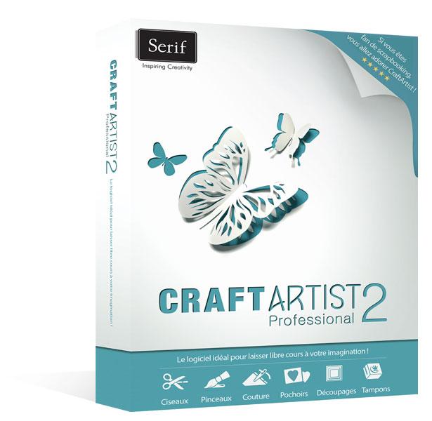 Serif craftartist 2 professional le logiciel id al pour - Laisser libre cours a son imagination ...