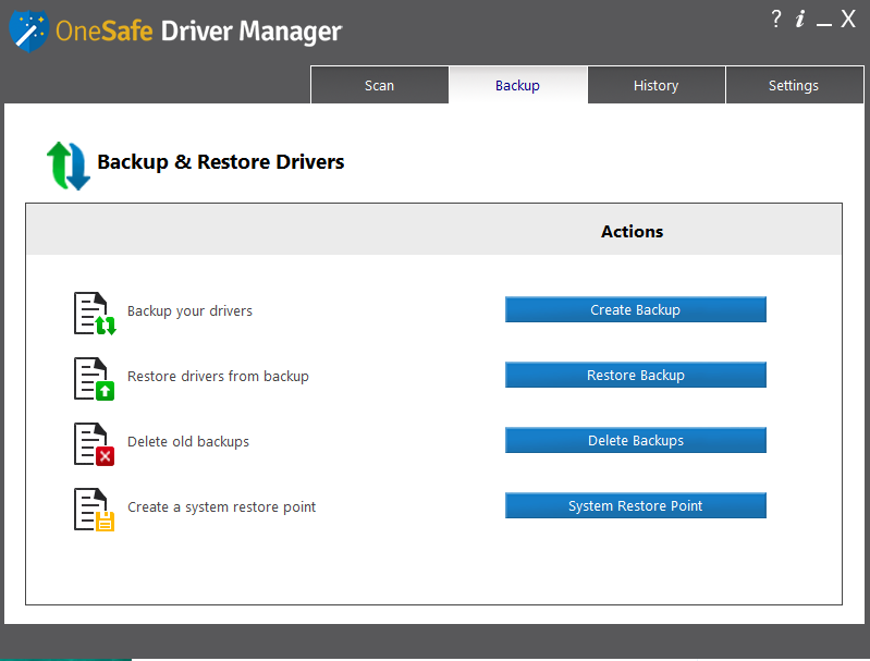 Automatically search for, install and update all your drivers!