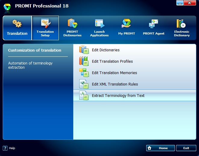 Promt Professional 19 is a business-level translator for professional, scientific, or educational activities.