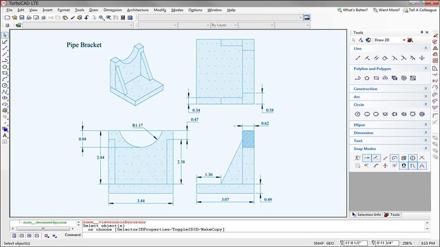 Turbocad lte turbocad uk autos post for Turbocad drawing template