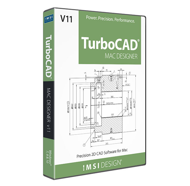 TurboCAD Mac Designer 2D - Precision 2D Drafting & Design