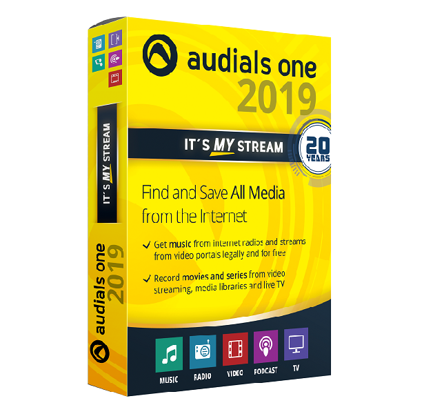 Audials One 2019   Avanquest
