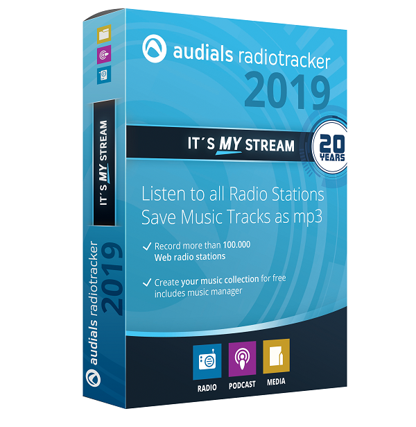 Audials Radiotracker 2019 | Avanquest